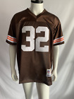 1964 Cleveland Browns #32 NFL Jim Brown Jersey All Sizes