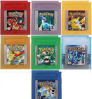 Внешний вид - Pokemon For Game Boy Series Nintendo GBC Silver, Gold, Blue, Red, ESP/Eng 16 bit