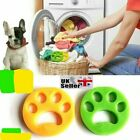(2PCS) Pet Hair Remover for Laundry Washing Machine Cat Dog Fur Reusable UK