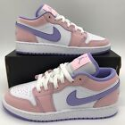 Nike Air Jordan 1 Low SE Retro Arctic Punch Easter GS Size Youth CV9844-600 NEW
