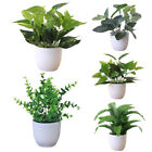 Artificial Ivy Leaves In Pot Flowers Fake Plant Outdoor Garden Office Home Decor