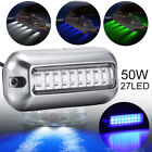 3.5  27 LED Marine Stainless Underwater Pontoon Waterproof Boat Stern Light