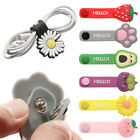 Headset Silicone Cute Cord Protector Winder Data Line Storage Cable Protector