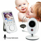 Wireless Video Baby Monitor Two Way Audio Soothing Music Temperature Detector