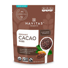 Navitas Organics Raw Cacao Nibs,Organic, Non-GMO (Assorted Flavors and Sizes)