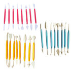 Kids Clay Sculpture Tools Fimo Polymer Clay Tool 8 Piece Set Gift for KidsO_GA