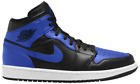 Men's and Women's High-Top Fashion Shoes Blue and Black US Men's Size 6-15