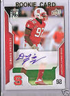2008 NFL Draft Edition DeMario Pressley North Carolina State Autographed RC