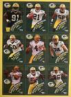 2007  GREEN BAY PACKER CARDS FAVRE DRIVER POLICE SET
