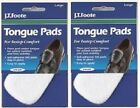 10 ( 5 pair ) FELT TONGUE PADS  Cushion for Shoes Self Adhesive