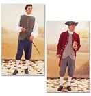 Butterick 3072 Sewing Pattern to MAKE Mens Historical Coat,Vest,Shirt,Pants,Hat