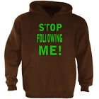 Stop Following me Hoodie evolution parody funny