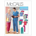 McCall's 3253 Sewing Pattern to MAKE Nursing Uniform Separates - Top Trousers