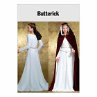 Butterick 4377 Sewing Pattern to MAKE Period Costume Gown w/Shaped Bodice & Cape