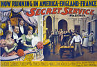 TH9 Vintage Secret Service Theatre Poster Art A1 A2 A3