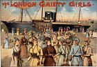 TH56 Vintage London Gaiety Theatre Poster A1 A2 A3