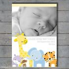 New Baby Personalised Birth Announcement Cards