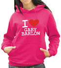 I Love Gary Barlow From X-Factor Hoody, Hooded Top - Any Colour or Size (1712)