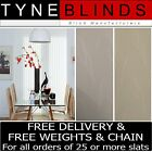Vertical Blinds SLATS - 89mm Amberley White or cream made to your exact size