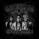 AMERICA LOVE IT OR GIVE IT BACK T-SHIRT INDIAN CHIEF BIKER NATIVE USA N NEW