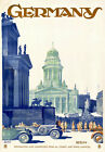 TT33 Vintage Germany Berlin Travel Tourism Poster Print A3 A2