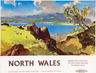 TT93 Vintage North Wales Railway Travel Poster Re-Print A3 A2
