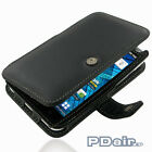 Genuine Leather Book Case for Samsung Galaxy S WiFi 5.0 YP-G70 Galaxy Player 5.0