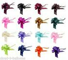 5 x 30mm Pull Bows for Wedding Pew Ends, Car Decoration, Gift Wrap, Floristry