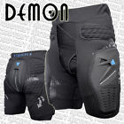 DEMON S12 Shield Padded Snowboard Shorts / Hip & Coccyx Impact Protection