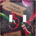 Cajun Kitchen Louisiana Crawfish Jambalaya Light Switch Plates Electrical Outlet