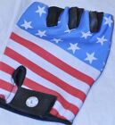 Fingerless Motorcycle Biker Mechanics Riding Work Out Gloves American USA Flag