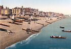 PS53 Vintage 1890's Deal From Pier Kent Photochrom Photo Poster Print A3/A2