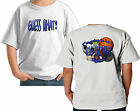 GUESS WHAT? BIG BROTHER AGAIN! Boys Sports T-Shirt white grey