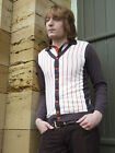 NEW MENS MOD SIXTIES 70s RETRO MARRIOTT INDIE CARDIGAN :All Sizes: Vintage