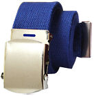 Military Style Canvas Web Belt - BUY 2 GET 1 FREE, JUST ADD 3 BELTS TO CART
