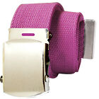Military Style Canvas Web Belt - BUY 2 GET 1 FREE, JUST ADD THE 3 BELTS TO CART