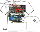Olds 442 T shirt Oldsmobile T Shirt 66 67 68 69 70 Muscle Car Tee 1968 1969 1970