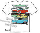 55 56 57 Thunderbird T shirt 1955 1956 1957 Ford Tee Classic Car M L XL 2XL 3XL