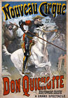 AV67 Vintage Don Quichotte Quixote Horse Circus Advertisement Poster A1/A2/A3
