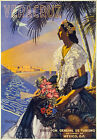 TX12 Vintage 1950's MEXICO Veracruz Mexican Travel Poster Re-Print A1/A2/A3