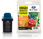 Remanufactured Jettec L50 Black Ink Cartridge for Lexmark Printers