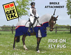 GEE TAC HORSE EXERCISE SHEET RIDE ON FLY RUG COMBO UV RATED  FLY MASK ALL SIZES