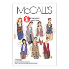 McCall's 2260 Sewing Pattern to MAKE Misses & Petite-able Vests/Waistcoats