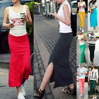 Celeb Style Soft Stretch Maxi Skirt Tube Dress Multiple colour dr121