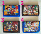 TOY STORY TRI-FOLD WALLET - Choose Design NEW - Kids Childs DISNEY  Buzz & Woody