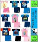 1-10 Years DIisney KIDS/CHILDREN 100% Cotton Short Pyjama Set CARTOON CHARACTER