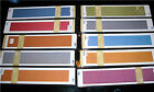 """12"""" Border QuicKutz Embossing Folders Your Choice of 11 Types! NEW!"""