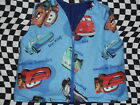 """DISNEY CARS"" 4-6 pd WEIGHTED VEST ""MANY PRINTS"" autism ADHD custom orders"