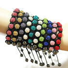 Fashion Women's Lady Crystal disco balls Jewelry Bracelets Party For Xmas gifts