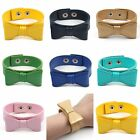 Cute Fashion Wristband Bowknot Bow  Leather Bracelet Free Shipping